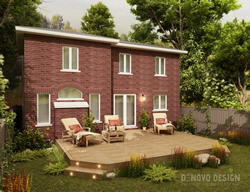 3d deck design vaughan project