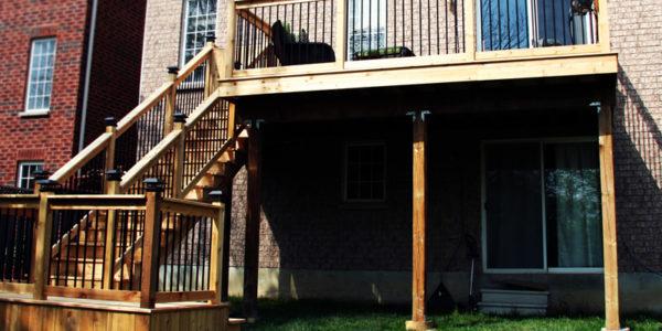 custom cedar deck brampton