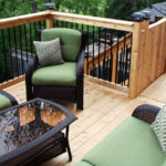 small cedar deck brampton