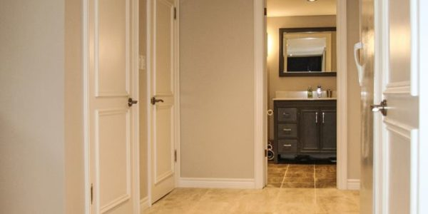 complete basement renovation toronto project 13