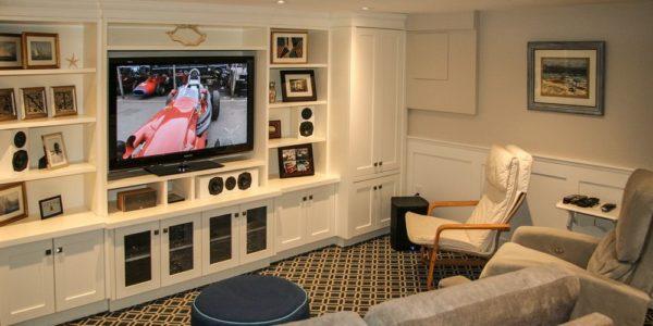 complete basement renovation toronto project