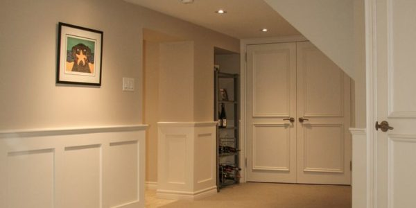complete basement renovation toronto project 7