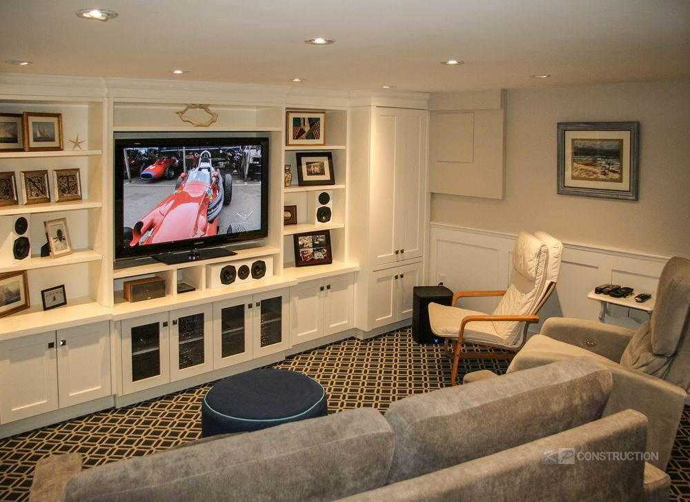 complete basement renovation toronto project
