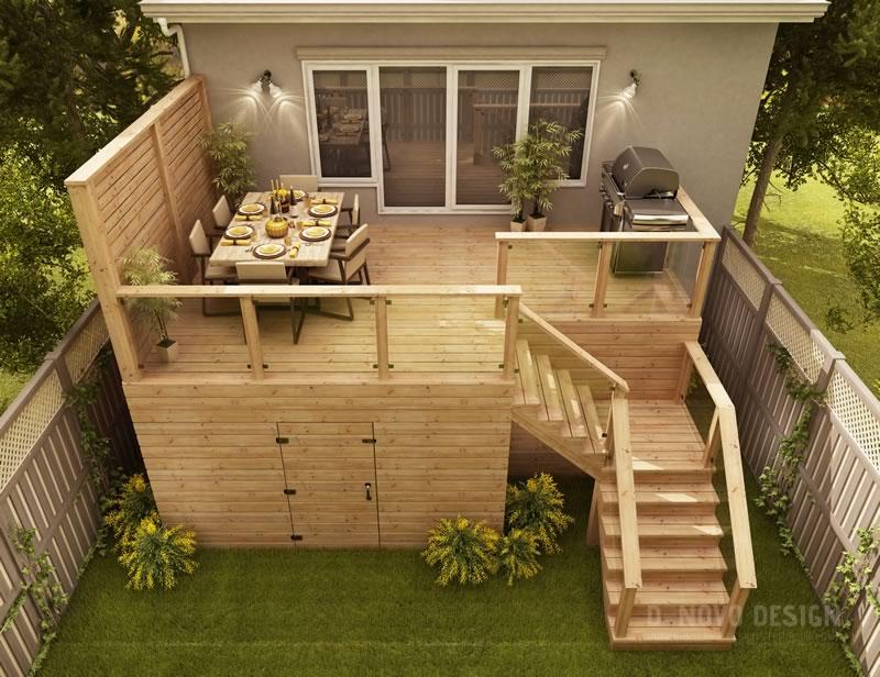 custom 3d deck design