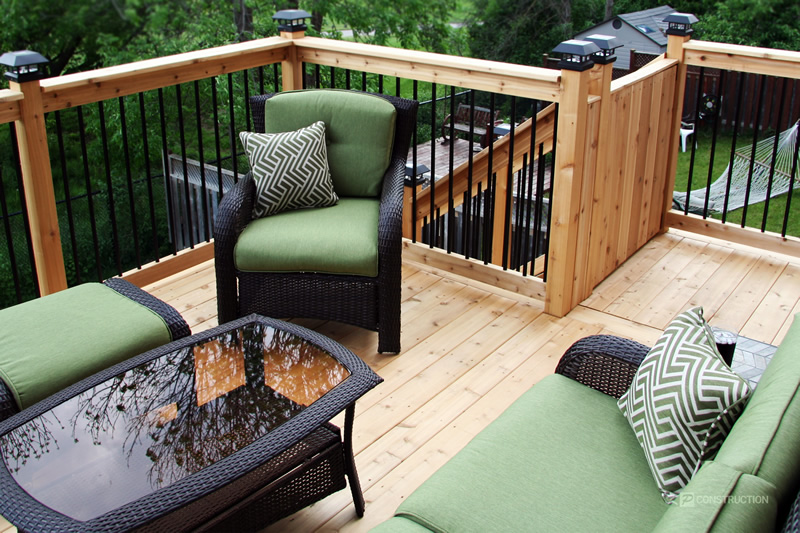 customized deck