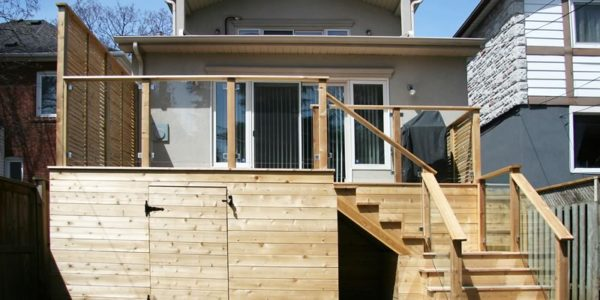Stage 4 small complete custom deck toronto
