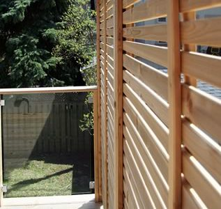 main top view of railings and deck toronto project