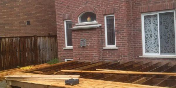 building cedar deck angle 2