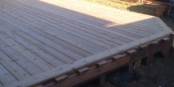 complete cedar deck vaughan project