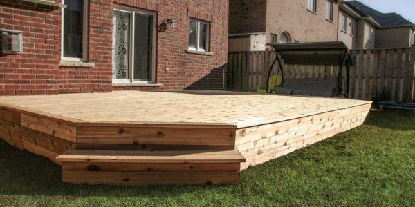 custom cedar deck perspective