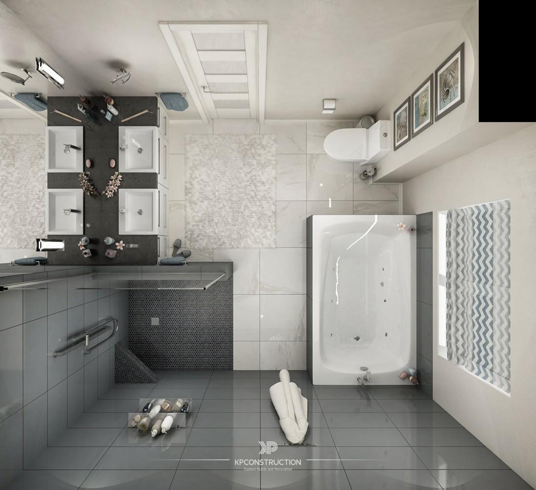 DenovoDesign-Bathroom Top View - Mississauga - KP ...
