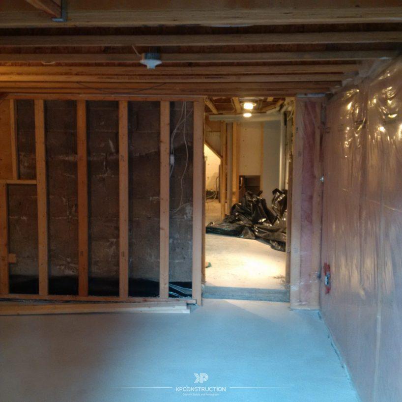 Basement Renovations Toronto Project By KP Construction